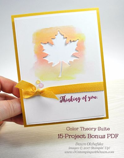 Color Theory Suite: Fall Watercolor Wash | DOstamping with Dawn | Bloglovin'