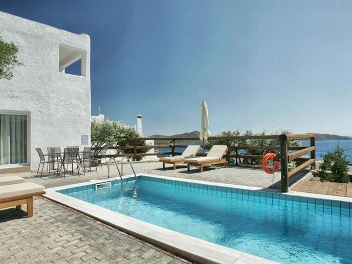 Zonvakantie bij Elounda Eleon Villas op Kreta met Eliza was here