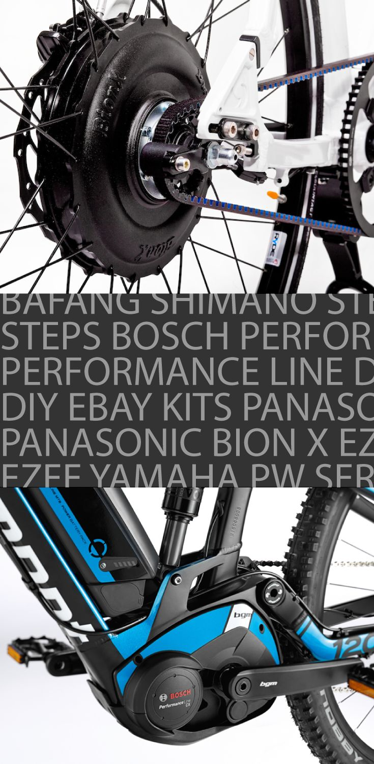 Bion X Conversion Kits and Bosch Performance Line. A lot of options out there for people getting into electric bikes. So let's start with the fundamentals of an ebike - the motor. We have hub drive and mid drive. Check out the article for a full write up comparing the two and see which one is the best.