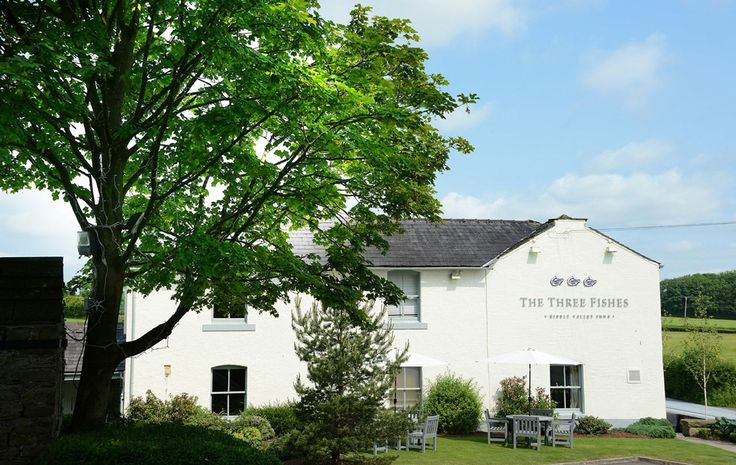 Gastro Pub | The Three Fishes interior design by Ward Robinson | Ribble Valley | Signage