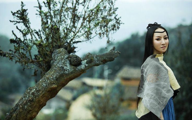 Chinese folk singer Sa Dingding (32 photos, 6 videos)