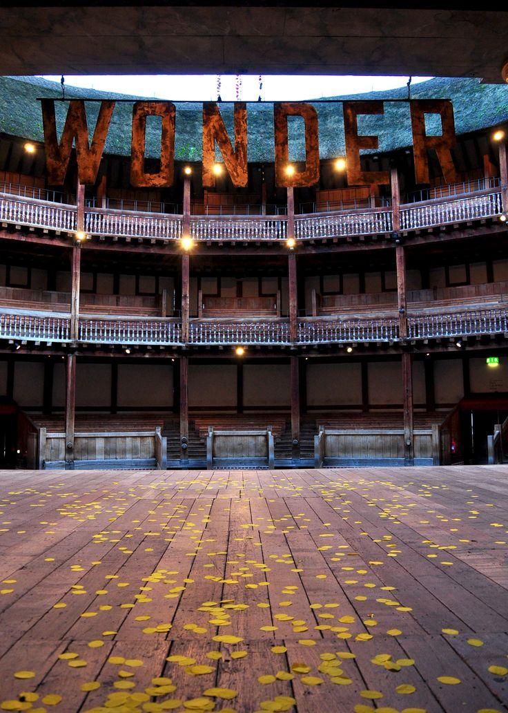 """Shakespeare's Globe demands wonder at its best..."" Introducing Emma Rice's 2016 Summer Season at the Globe. (Photo credit: Hannah Yates)"