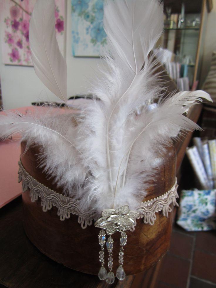 Gatsby inspired headpiece #gatsby
