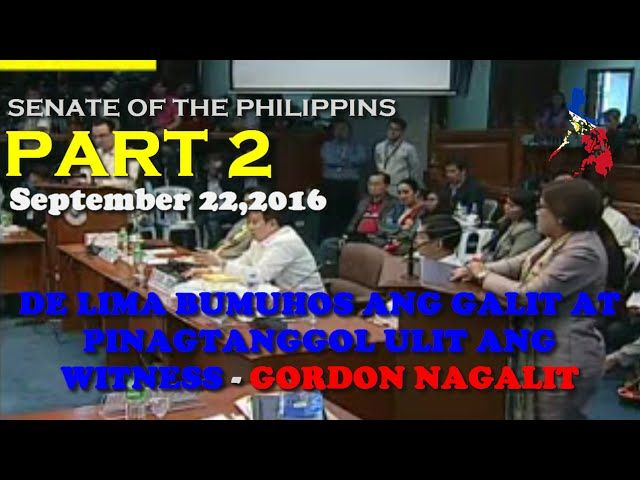 Senate Hearing Extrajudicial Killing Part 2 SEPTEMBER 22,2016 - http://www.dutertenewstoday.com/senate-hearing-extrajudicial-killing-part-2-september-222016/