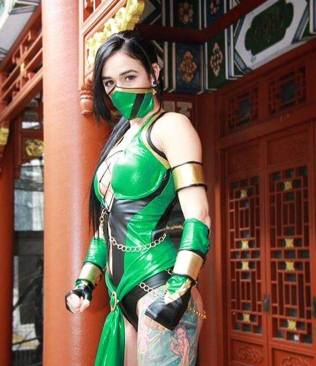 Jade mortal kombat 9 cosplay by Mlle sugar star