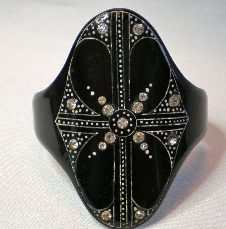 17 best images about art deco jewelry bracelets on for Art deco costume jewelry