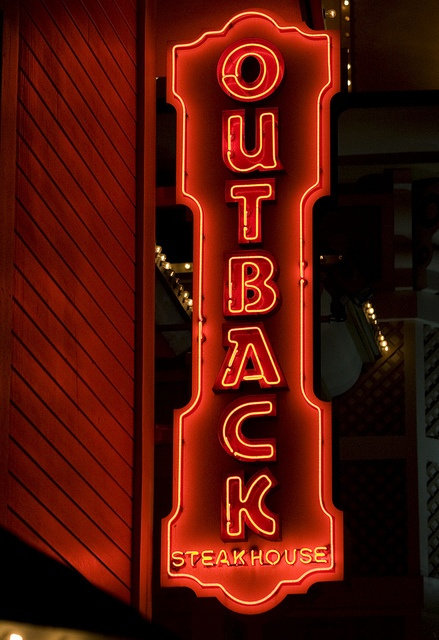 Outback Steakhouse by Thomas Hawk, via Flickr