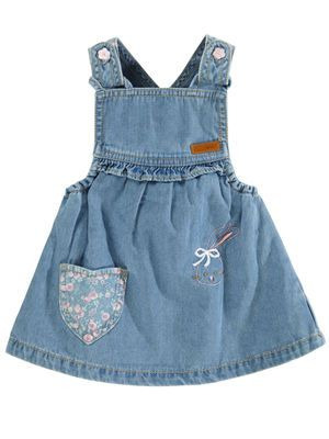 NEWBORN HALFRIDA JEANS, Light Blue Denim, main