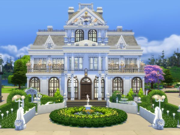 norenegonc\'s When Baroque Met Modern (noCC - Mansion) | Sims ...