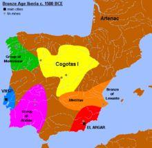Pré-história da península Ibérica – Wikipédia, a enciclopédia livre