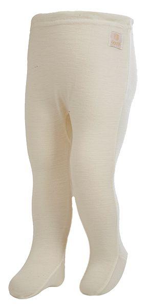 Janus baby pantalonger, merinoull ullvit