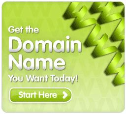 Domain and Email package starting at $9.99 per year