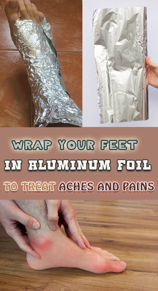 Wrap your feet in aluminium foil and see what happends ......