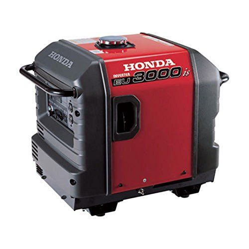 Generators Honda EU3000is 3000 Watt Portable Quiet Inverter Parallel Gas Power Generator