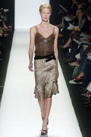 Carolina Herrera Fall 2005 Ready-to-Wear Fashion Show - Caroline Winberg