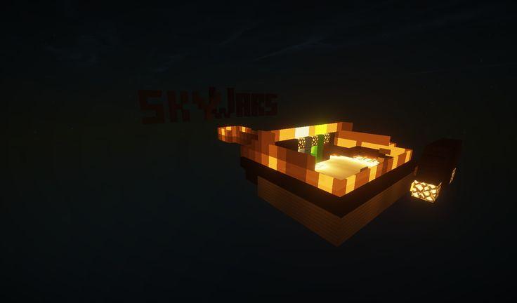 Skyblock, un server... un'isola... una sopravvivenza... un'avventura! Ecco lo spawn.