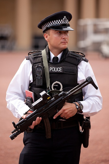 2011 Police outside Buckingham Palace