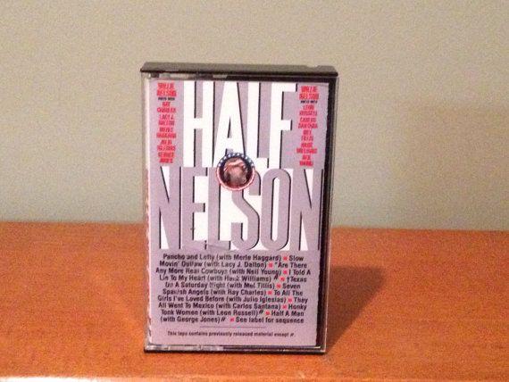 Willie Nelson Half Nelson cassette tape by TurnAroundRecords, $5.00