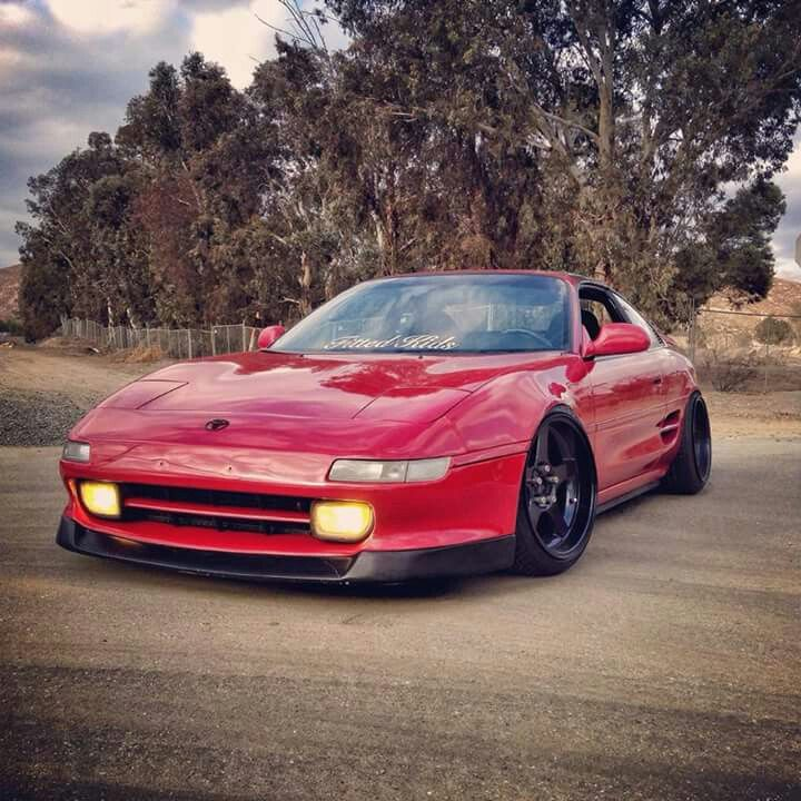 Red Toyota mr2 | Toyota mr2, Toyota, Japanese sports cars