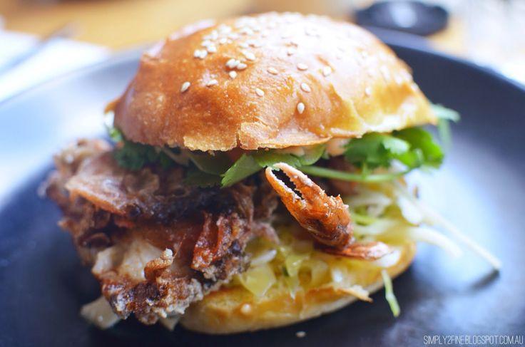 Soft Shell Crab Burger @hammerandtong214