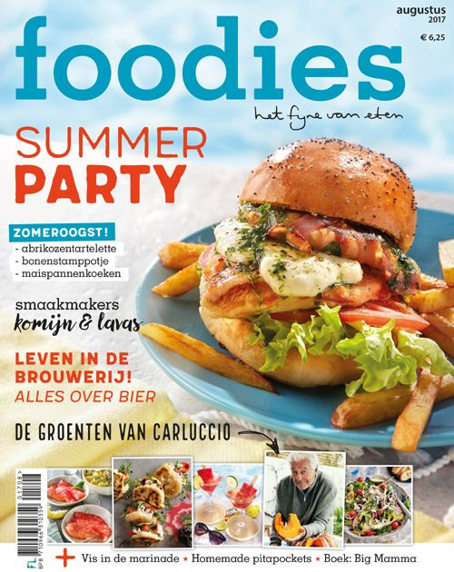 foodies augustus 2017: summer party!