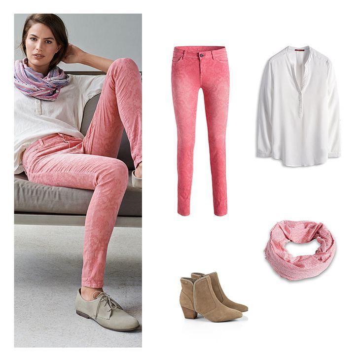 <3 look: soft #Esprit #colours