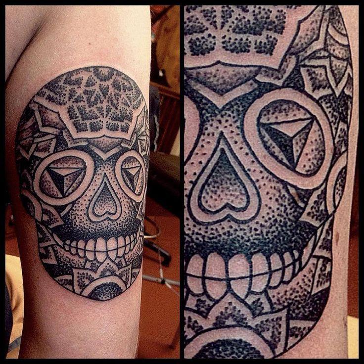 Tattoo by Jimmy Memento at LDF Newtown
