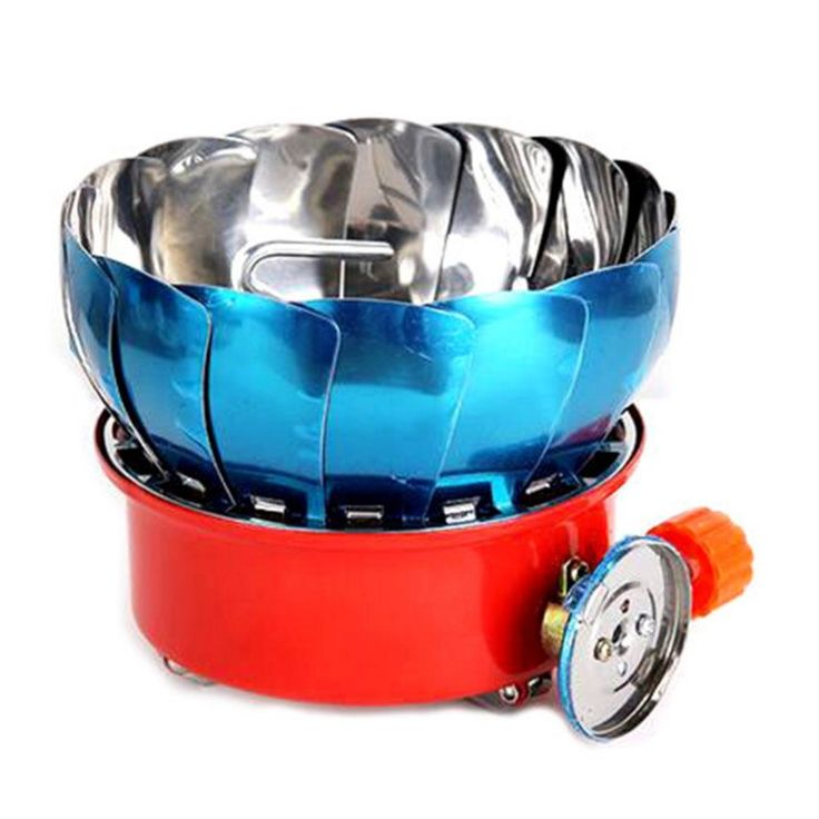 Outdoor Windproof  Stove Cooker Cookware Gas Burner Camping Picnic Cookout BBQ  Outdoor Camping Travel Tool #Affiliate