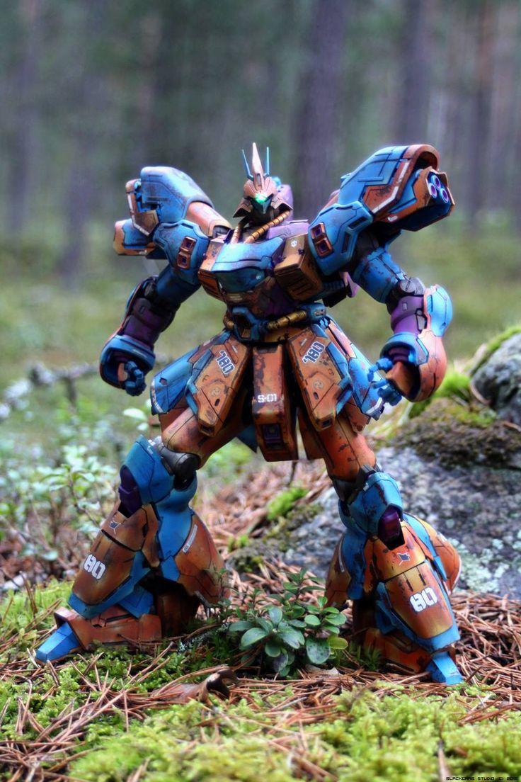 Custom Build: MG 1/100 MSN-04 Sazabi 780/80 - Gundam Kits Collection News and Reviews