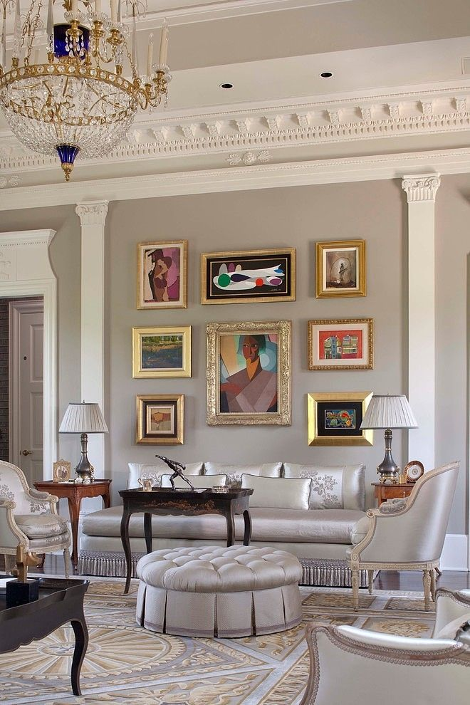 17 Best images about Crown molding on Pinterest Grey walls, Gold