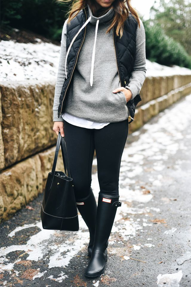 Best 25+ Black hunter boots ideas that you will like on Pinterest ...