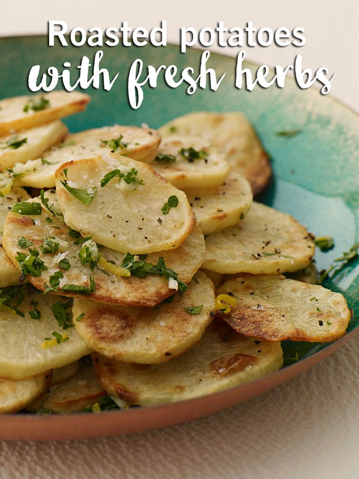 This is one of our fan-favourite potato recipes! Keep your side dish simple with some fresh herbs and this roasted potato recipe.