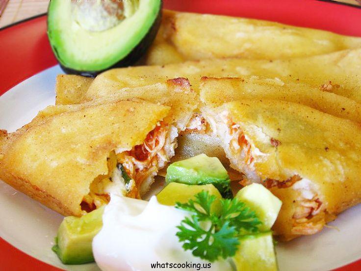 Quesadillas fritas estilo Coyoacan