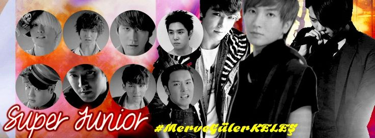 #Super_Junior <3 <3 <3  By: #MerveGülerKELEŞ