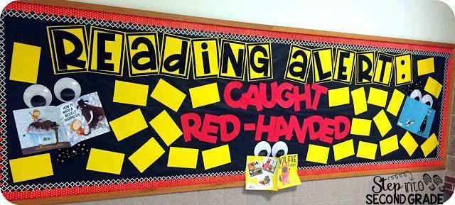 Reading Bulletin Board | Step into 2nd Grade with Mrs. Lemons | Bloglovin'