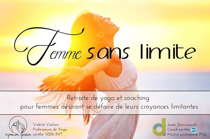 Retraite de yoga et coaching Femme Sans Limite (FSL) 3 versements (versement 3)