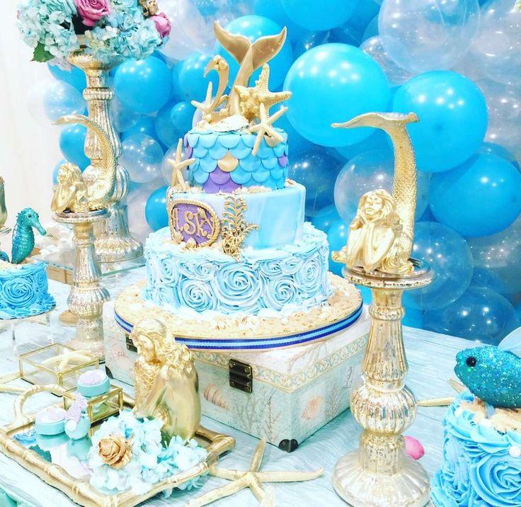Fantasy Mermaids Birthday | CatchMyParty.com