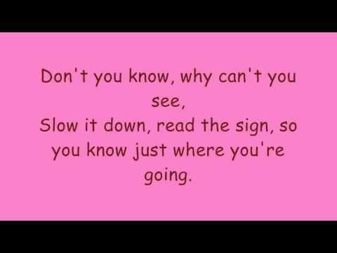 Spice Girls - Stop (Lyrics)