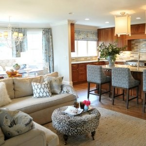 Superb This Is Another Open Concept Kitchen, Dining, Living Space That Is Cozy And  Includes