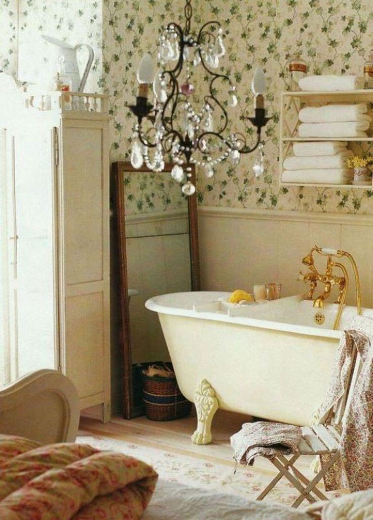17 migliori idee su bagni in stile country su pinterest - Stile country chic mobili ...