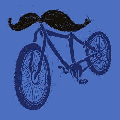 mustache handlebars!