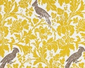 Vintage wallpaper. Pretty for a bathroom don't you think?