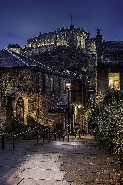 bluepueblo:  Medieval, Edinburgh, Scotland photo via besttravelphotos