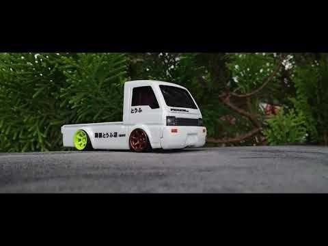 Pickup Truck Stance 1 64 Tomica Elf Convert To Mitsubishi