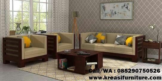 Kursi Tamu Minimalis Model Box Kreasi Furniture Jepara Set Sofa Desain Furnitur Mebel