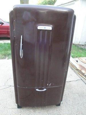 Vintage Ge General Electric Refrigerator Type Jb6 Fridge