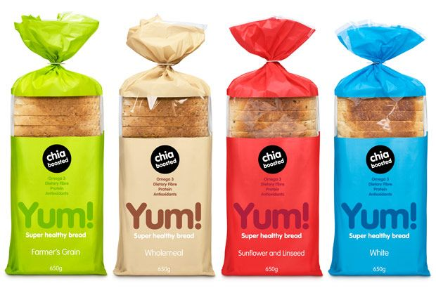 With chia seeds being all the rage for healthy eating, I think this packaging does a good job. Plus I love the colors too. Yum!