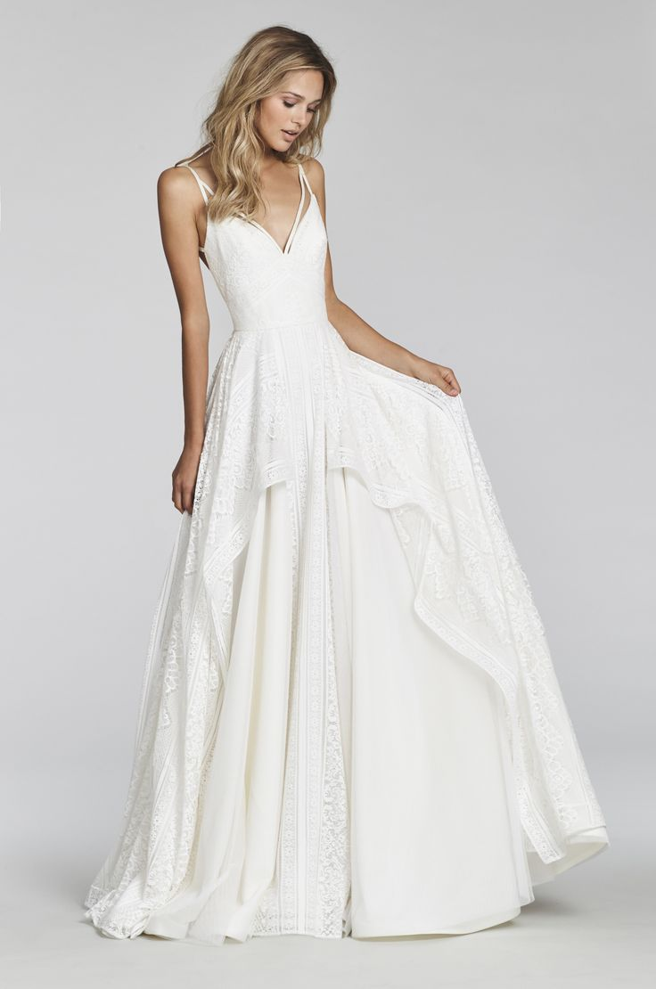 Bridal Gowns and Wedding Dresses by JLM Couture - Style 1706 Louie