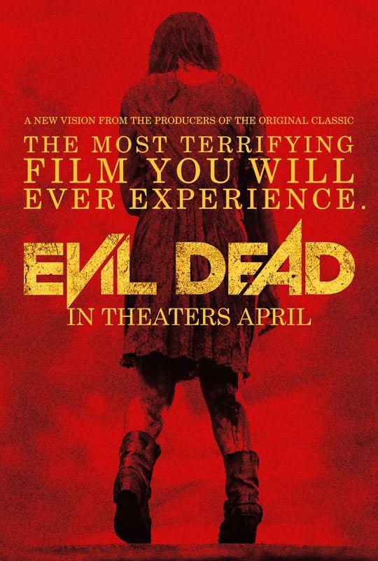 Blood Red EVIL DEAD (TeaserPoster)   Via: GeekTyrant (#evildead)