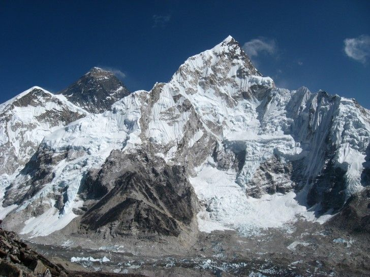 Mount Everest, Nepal - I would like to lay my eyes on this beautiful and treacherous mountain.  I have no thoughts that I could ever climb it.  Bucket List item